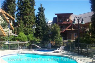Pool Anf Hot Tub - Enjoy a Heated Year round Pool, Hot Tub and Sauna at Glaciers Reach