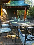 ...Or Maybe you Prefer Al Fresco Dining on our 800 Square Foot Deck.