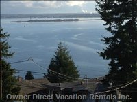 View Semiahmoo Bay from 2 Master Rooms