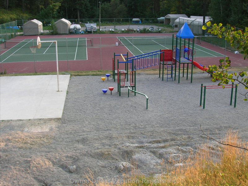 Tennis Courts/Playground/ Basketball Court