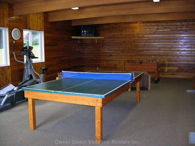 Rec Center - Games and Exercise Equipment