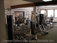 Clubhouse Weight & Cardio Equipment & Sauna