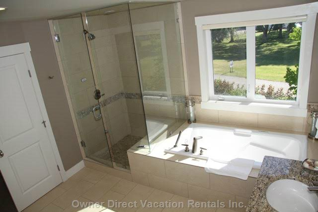 Steam Shower/Soaker Tub