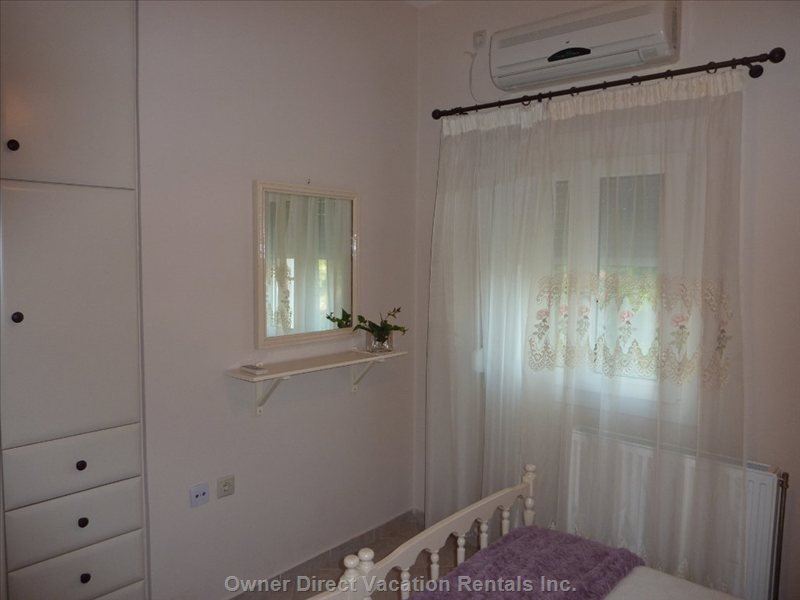Another View of Bedroom - all Rooms Are Equipped with Air-conditioning for a Good Night Sleep.