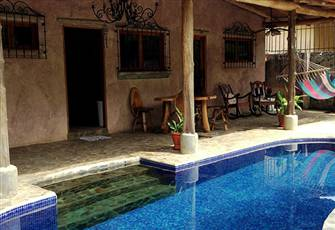 Rustic Villa Holiday Rental in Playa Hermosa