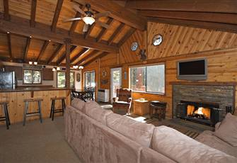 Luxury Cabin at N.Lake Tahoe W Hot Tub & Access to Private Dock, Wifi, Dogs Ok