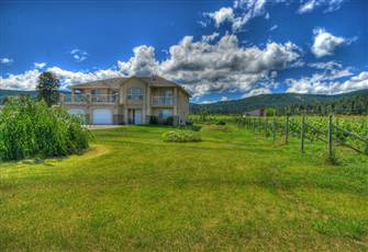 Amazing Vineyard Location. Prestigious Winery and Vacation Home.