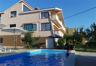 Villa with Pool on Beautiful Adriatic Sea