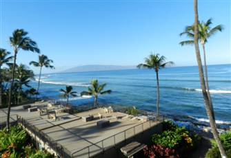 Ocean View Condo West of Lahaina