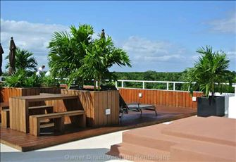 Rooftop Terrace at the Nick Price Residences