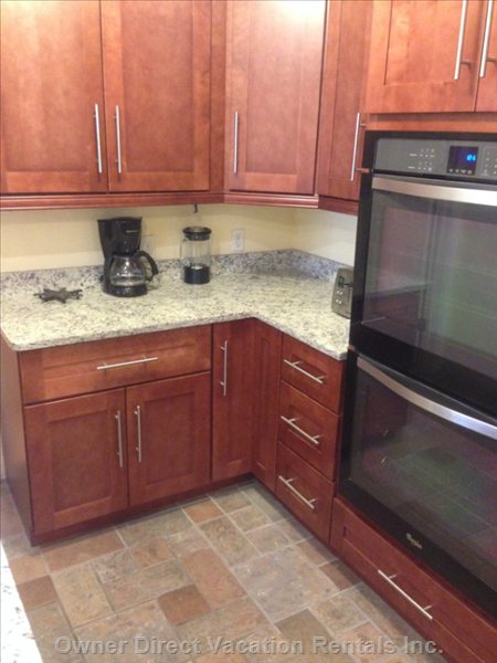 Double Wall Oven in Kitchen