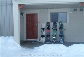 Walk-out Unit with Ski in/out Access Direct to the Door - Pet Friendly Too!