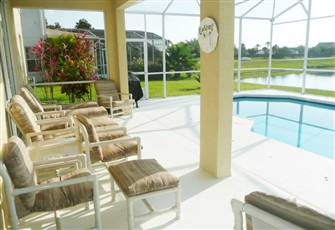 Stunning Lake View Orlando Vacation Rental Pool Home in Kissimmee near Disney