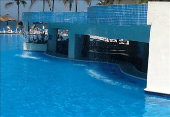 Manzanillo's Best Beachfront Accommodation and Pool