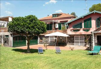 Apartment in Sicilian Villa a Short Distance from the Sea and Mt. Etna