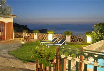 Casa 2 Ulivi Surrounded by Greenery with Fantastic Sea View and Private Pool