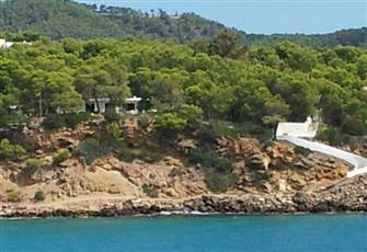 Sea Side Villa above Cala Llenya Beach - San Carlos - Ibiza