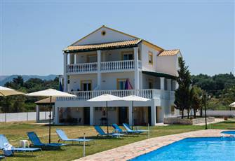 Corfu Sea Palm Residence Apartment 2 Bedrooms Sea View