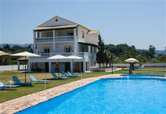 Corfu Sea Palm Residence Apartment Garden View