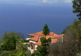"Vacation Villa ""Landhaus Tijarafe"" - Breath-Taking Panoramic View on Atlantic"