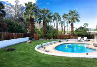 New to Market - Modern Desert Home 1/2 Acre Lot Heated Pool
