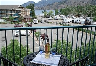 View and Walk to Skaha Lake Beach and Stay in a Luxury Condo.