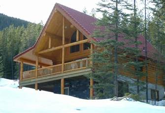 Luxury Cedar Log Chalets 2,000 Sq Ft