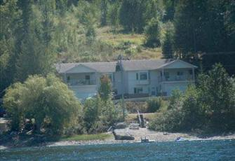 Semi-Waterfront Property on the Shores of Beautiful Shuswap Lake