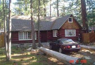 Romantic Vintage Log Cabin, Enclosed Hot Tub, On Quiet Double Lot In Bijou Pines