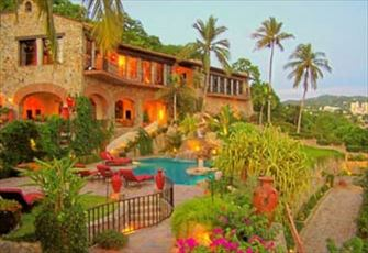 10,000 sq ft Acapulco Mansion