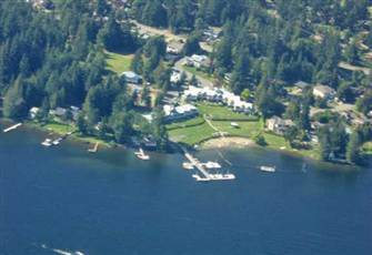 Beach Front Accommodation on Shawnigan Lake, B.C.