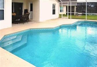 Luxury 5bdm, 3bath Villa 10 Min to Disney, with Heated Pool