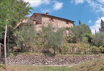 Old Stone Farmhouse Full of Charm in the Hills of Tuscany