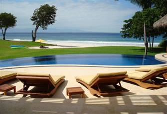 "On the Beach in ""Ranchos, Punta Mita""--Full Staff/ Chef Included"