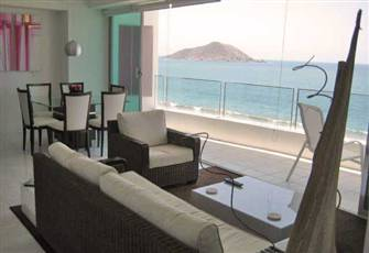 Two Bedroom Beachfront Condo/hotel in Nuevo Mazatlan