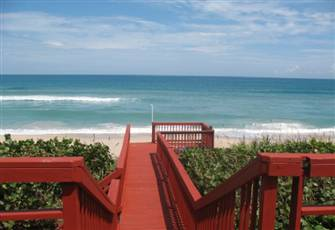 Licensed Direct Beachfront Mansion - 80 ft. of Atlantic Ocean - Upper Floor Unit