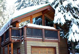 Enjoy Stunning Views from your Log Style Whistler Chalet