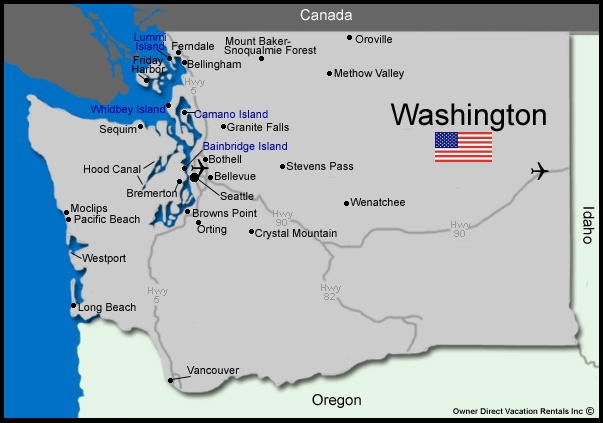 Washington State Vacation Rentals