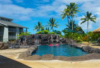 Lovely Cliffs Resort Studio Unit-Full Kitchen -DSL-Sleeps 2- Princeville, Kauai