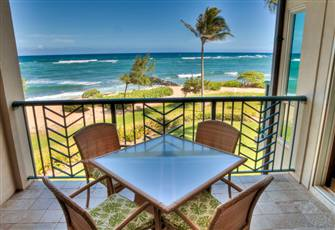 Spectacular Waipouli Beach Resort Direct Whitewater Oceanfront Condo