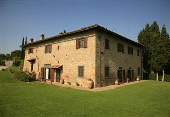 An Exclusive Farm-House With a Wonderful View on San Gimignano