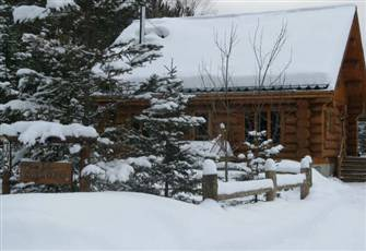 Welcome to our Luxurious Log Chalet in Mont-Tremblant