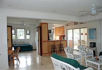 Two Bedrooms, Six Beds, Large Living Room, Lanai with View, on Lanikai Beach