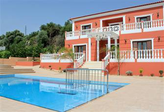 Royal Villa in West Chania, Crete with Pool, Jacuzzi and Breathtaking Views!