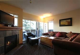 Updated 2-Bedroom Multi-Level Village Condo with Kitchen and Fireplace