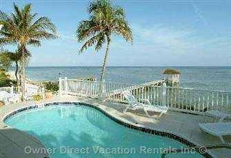 Beachfront 6 Br 5+ Bathrooms Northside/ Rum Point