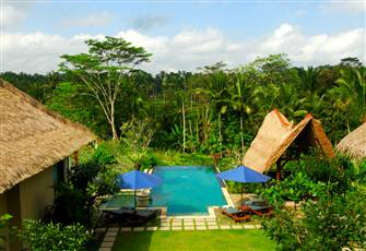 Luxury, Beautiful, Private 4 Bedrooms Villa in Ubud