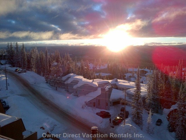 You Don't Have to be a Skier Or Snowboarder to Enjoy the Breathtaking Views of the Monashee Mountains.