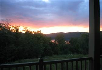 Mont Tremblant Condo Rental - Beautiful View of Lac Mercier