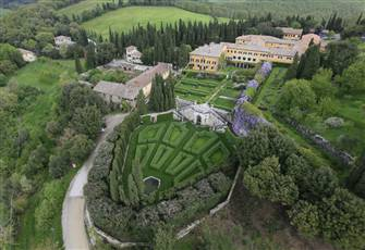 A Villa and Historic Garden in the Magical Val D'orcia, Tuscany